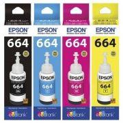 Kit Epson Original T664120 T664220 T664320 T664420