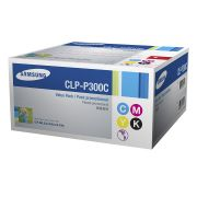 Kit Toner Samsung Original CLP-P300C com 4 Toners