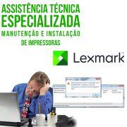 Manutenção e instalação de impressoras Lexmark assistência ESPECIALIZADA