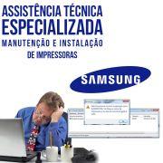 Manutenção e instalação de impressoras Samsung assistência ESPECIALIZADA