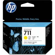 Pack 03 Cartuchos HP 711 Original CZ136A Yellow | T120 | T520