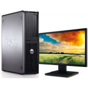 PC Desktop | Intel Core 2 Duo 2.93ghz HD 160GB 2GB DDR3 + Monitor LCD 17  Seminovo