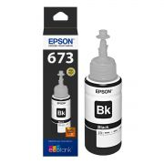 Refil de Tinta Epson Original T673120 Black