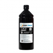 Refil Tinta para HP Universal Black 1 litro Corante