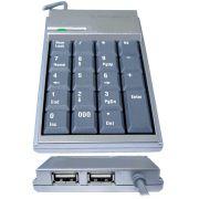 Teclado Numerico com HUB USB-Univ Serial - Gold Ship
