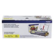Toner Brother Original TN-221Y | TN221Y Yellow | HL3140 | DCP9020 | MFC9130