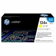 Toner HP 124A Original Q6002A Yellow | 2600N | CM1015 | CM1017