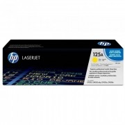 Toner HP 125A Original CB542A Yellow ´Sem Caixa´
