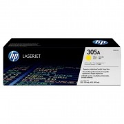 Toner HP 305A Original CE412A Yellow Sem Caixa