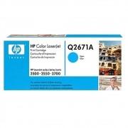 Toner HP 309A Original Q2671A Cyan | 3500N | 3700N
