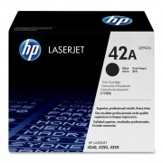 Toner HP 42A Original Q5942A Black | 4250 | 4350 | 4240n