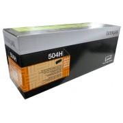 Toner Lexmark 504H Original 50F4H00 Black | MS610de | MS310dn | MS312dn | MS415dn