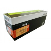 Toner Lexmark 524X Original 52D4X00 524dx00 Black