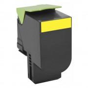 Toner Lexmark 808SC Original 80C8SY0 Yellow | CX310 | CX410 | CX510
