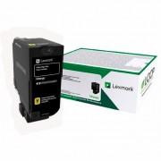 Toner Lexmark Original 84C4HY0 Yellow | Cs725 Cs725 Cx725 Cx-725