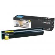 Toner Lexmark C935 Original C930H2YG Yellow