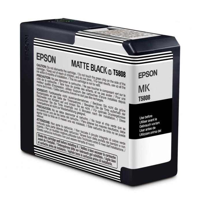 Cartucho Epson Original T580800 UltraChrome K3 Matte Black