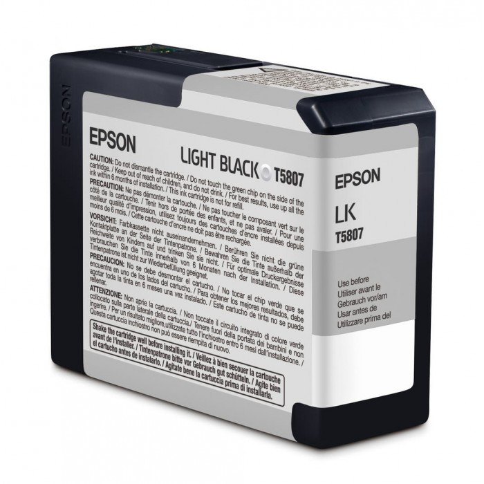 Cartucho Epson Original T580700 UltraChrome K3 Light Black