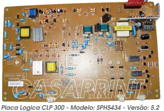 Placa Logica para Impressora CLP300 clp-300 CLX2160 Mod SPH5434 5.2