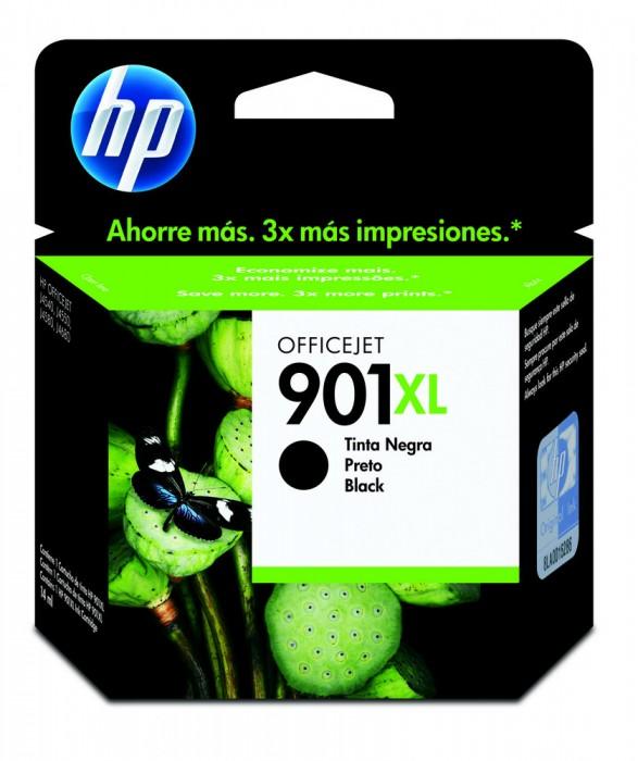 Cartucho HP 901XL Original CC654AB Black | 4500 | J4580 | J4660