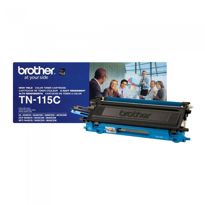 Toner Brother Original TN-115C Cyan | HL4040 | DCP9040 | MFC9840