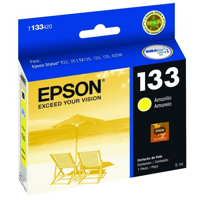 Cartucho Epson Original T133420 Yellow