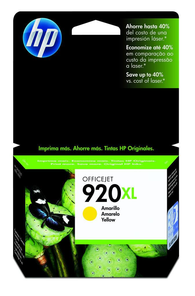 Cartucho HP 920XL Original CD974AL Yellow   6000   6500   7000   7500