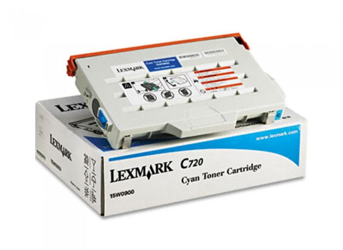 Toner Lexmark Original 15W0900 Cyan