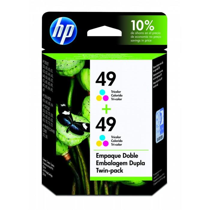 Cartucho HP 49 | 51649A Original C8799FL Color Duplo