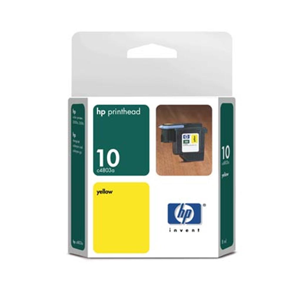 Cabeça de Impressão HP 10 C4803A Yellow | 2000C | 2500C