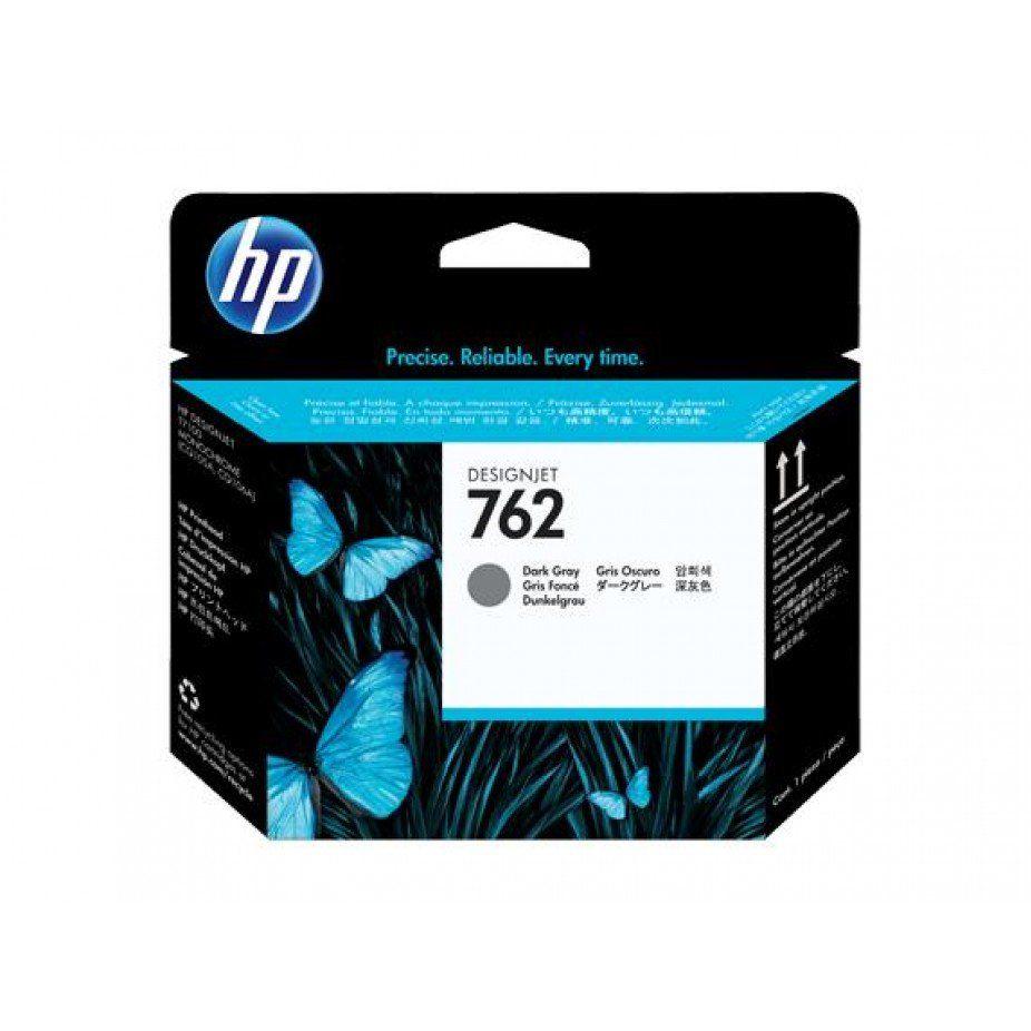 Cabeça de Impressão HP 762 cn074a DesignJet Dark Gray