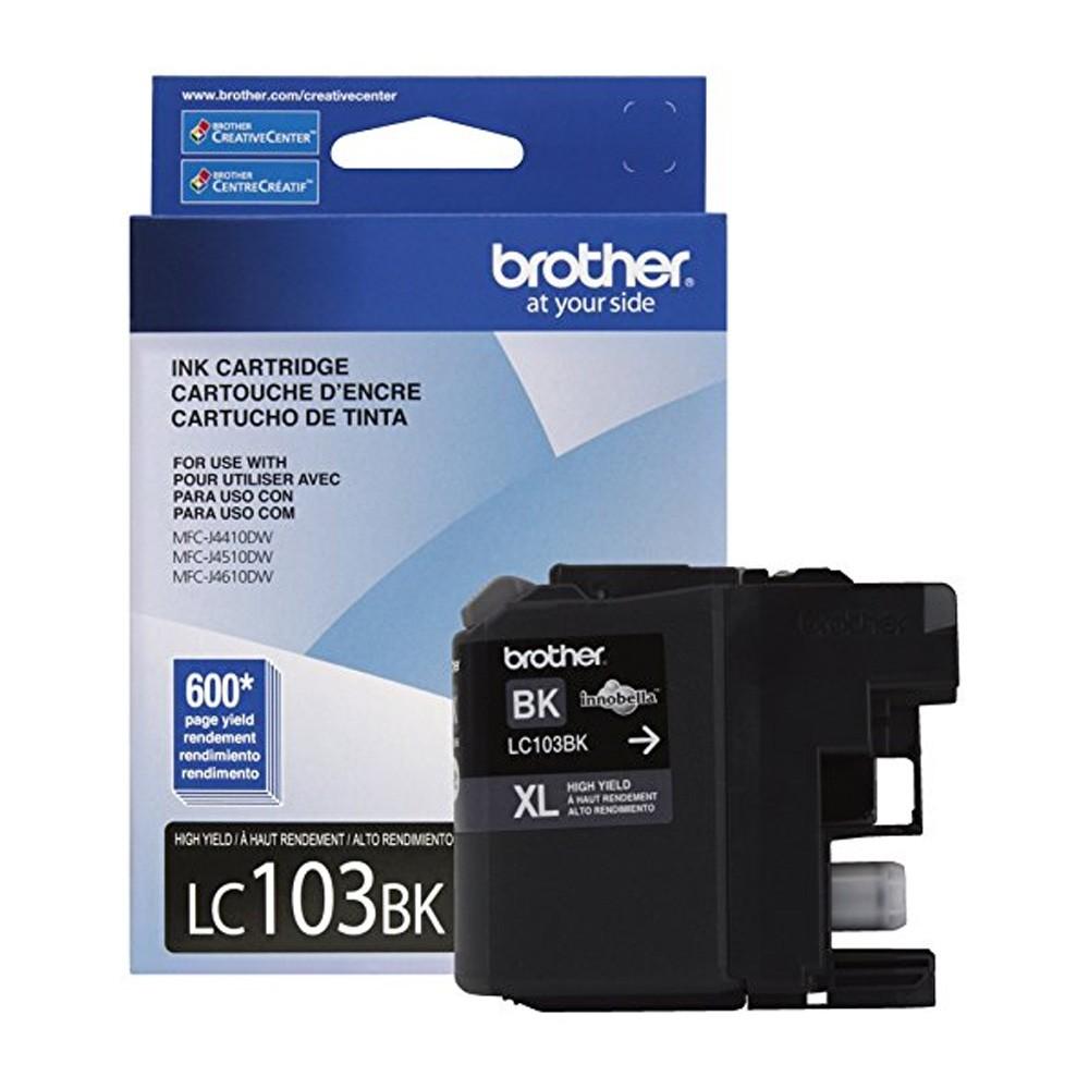 Cartucho Brother Original LC103BK Black MFC J6520 C6720 J6920 J4310 J4510 O&M