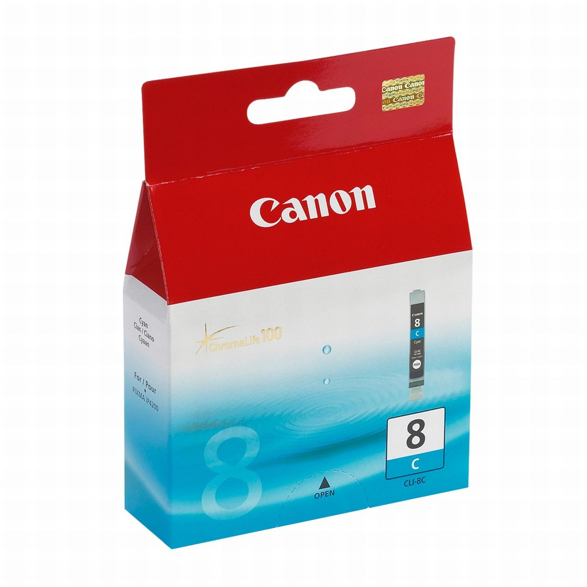 Cartucho Canon Original CLI-8C Cyan   Canon PIXMA IP6600D   9000   SEM CAIXA