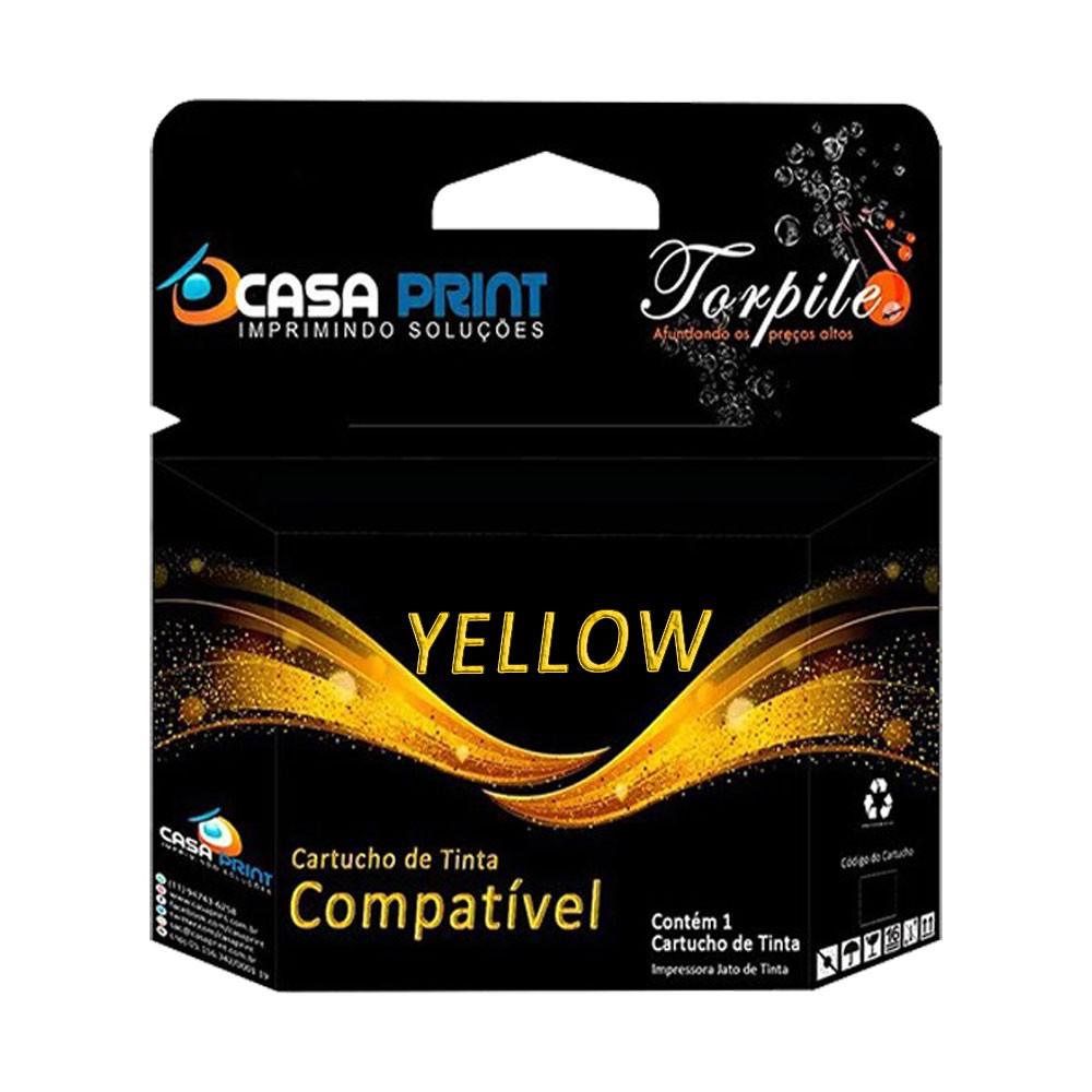 Cartucho Compatível com HP 11 C4838A Yellow   Deskjet 10/ 20/ 50/ 70/ 100/ 110/ 120/ 9110