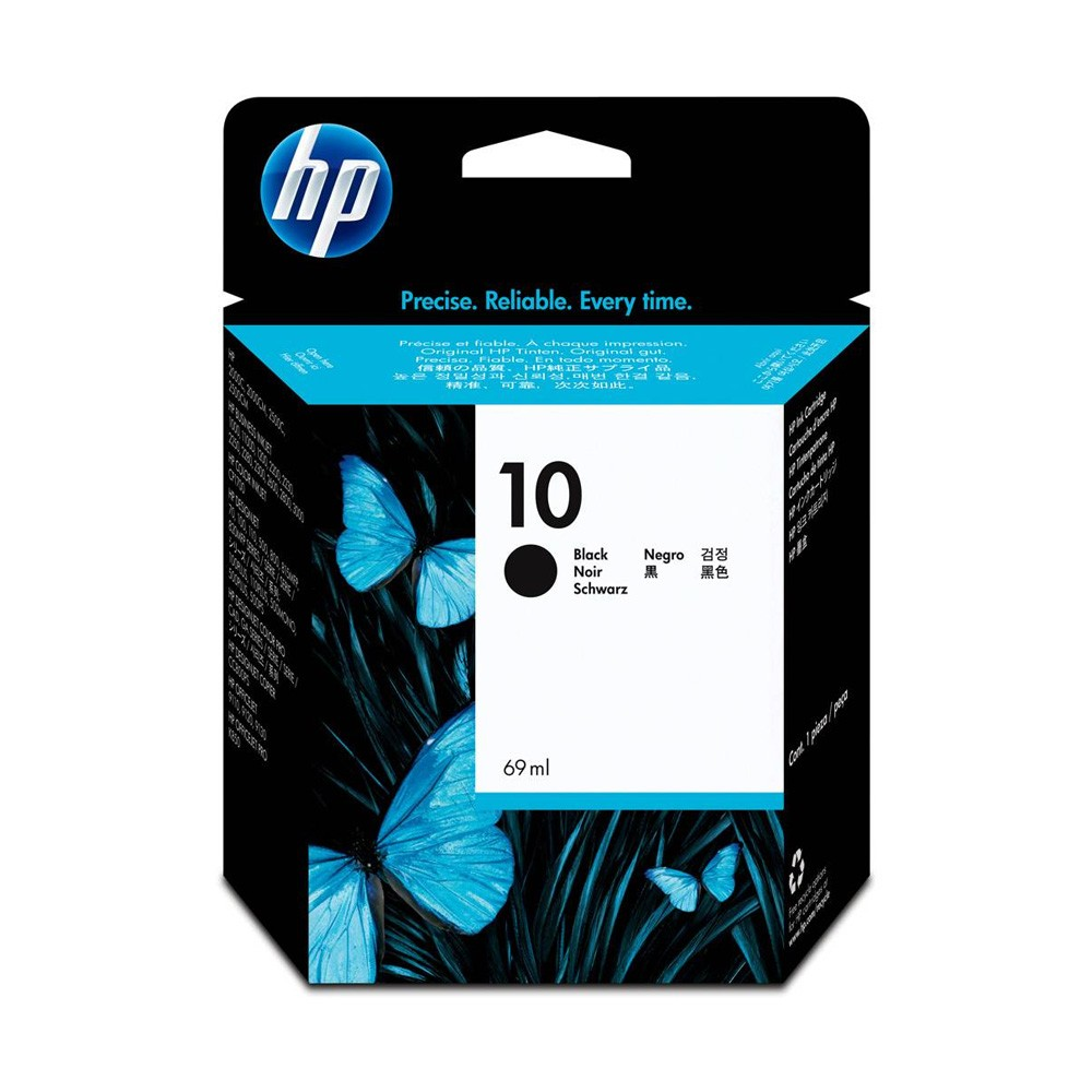 Cartucho HP 10 Original C4844A Black  | 2000C | 2500C