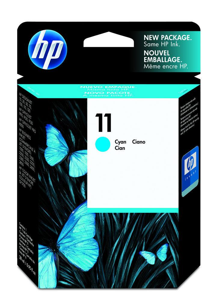 """Cartucho HP 11 Original C4836A Cyan """"SEM CAIXA"""""""