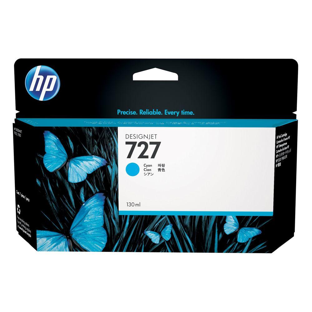 Cartucho HP 727 Original B3P19A Cyan | T920 | T930 | T1500 | T1530 | T2530 | T2500