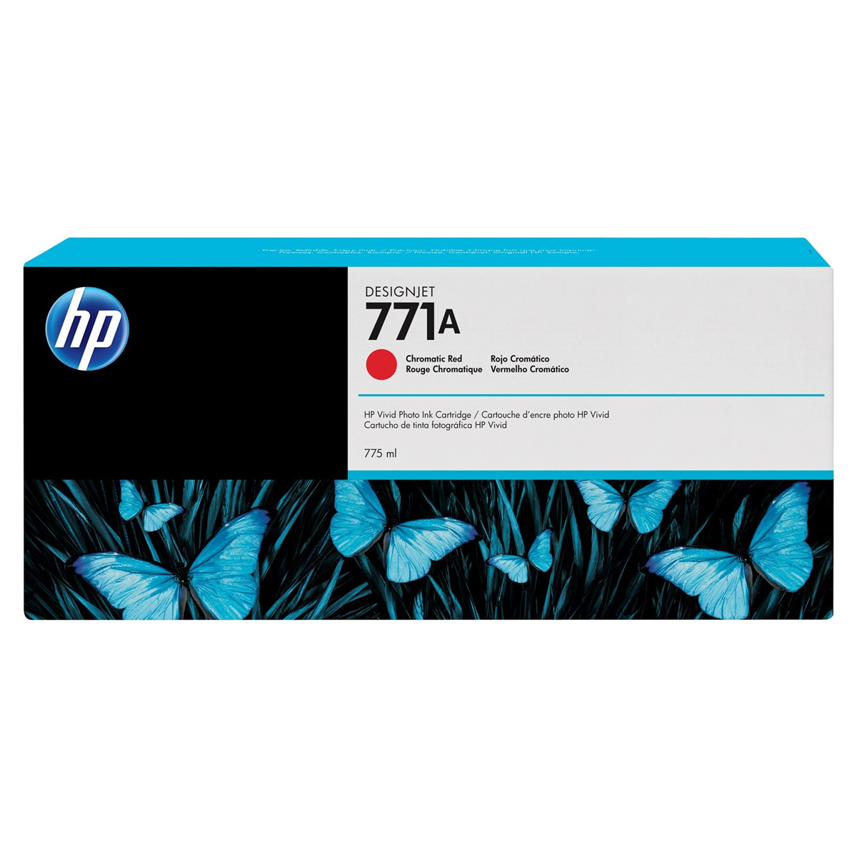Cartucho HP 771 Original B6Y16A | CE038A Chromatic Red | Z6200 | Z6600 | Z6800