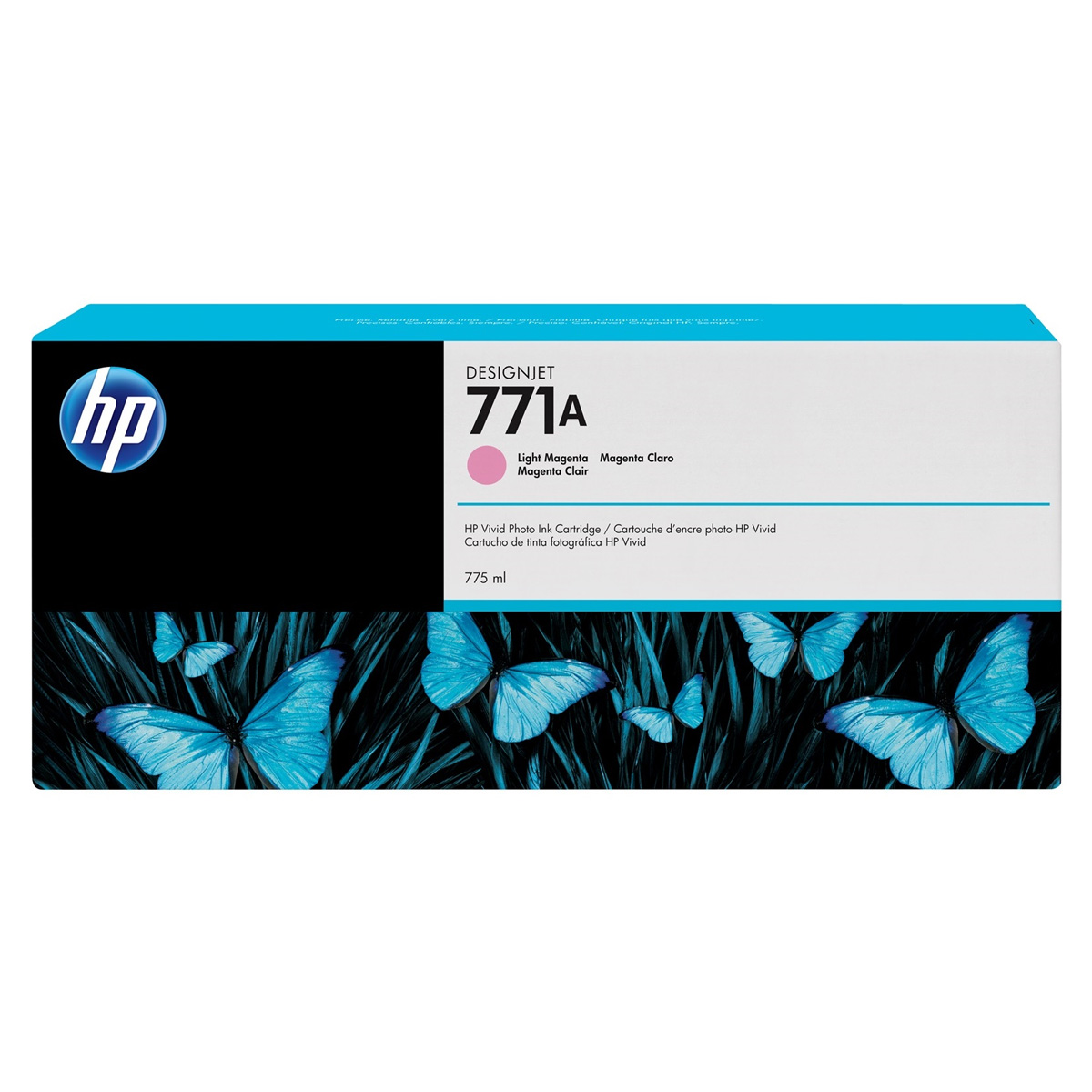 Cartucho HP 771 Original B6Y19A | CE041A Light Magenta | Z6200 | Z6600 | Z6800