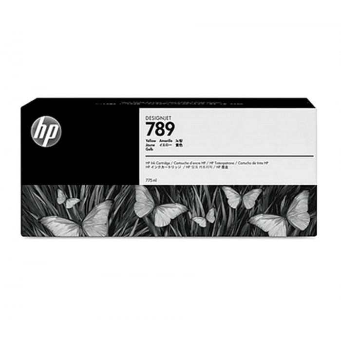 Cartucho HP 789 Original CH618A Yellow Latex   L25500