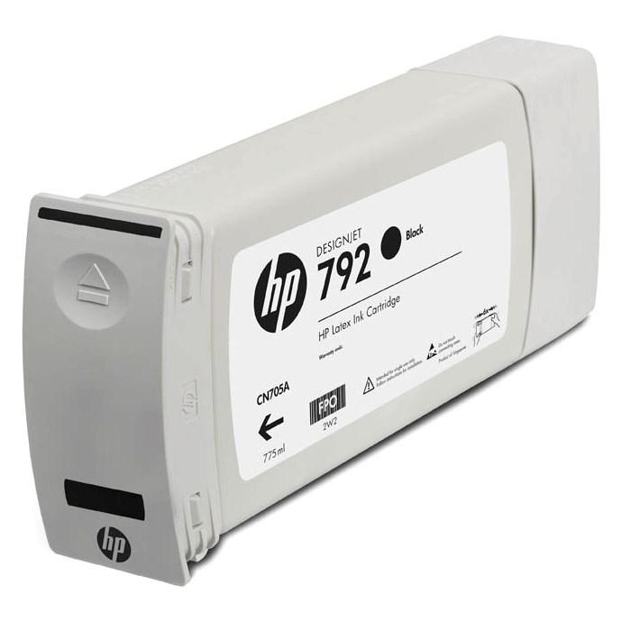 Cartucho HP 792 Original CN705A Black Latex 775ml | L26100 | L26500 | L28500