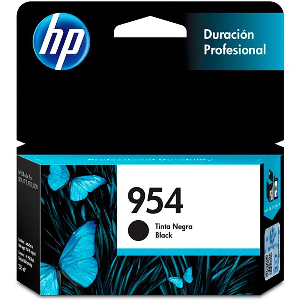 Cartucho HP 954 Original | L0S59AB Black | 8210 | 8730 | 8710 | 8720