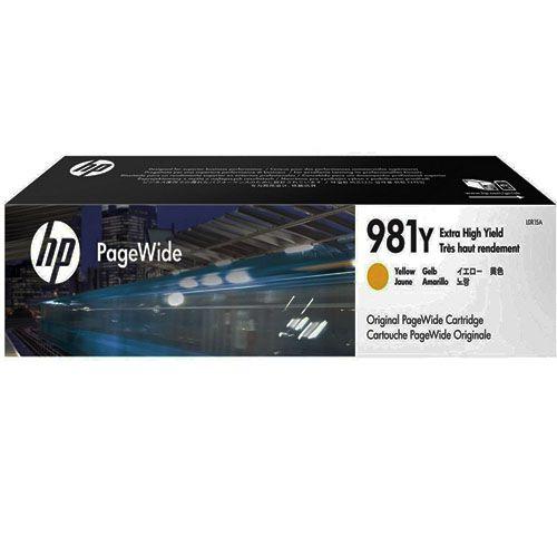 Cartucho HP 981Y L0R15A - Yellow | 556DN | 556HX | 586DN | 586F