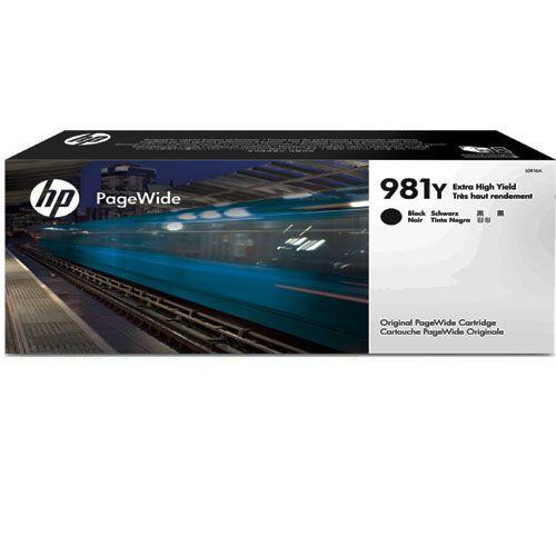 Cartucho HP 981Y L0R16A - Preto | 556DN | 556HX | 586DN | 586F