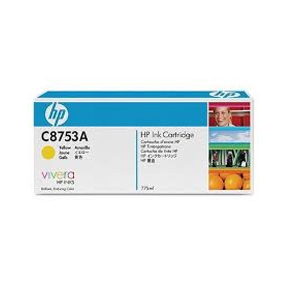 Cartucho HP Original C8753A Yellow | CM8050 | CM8060