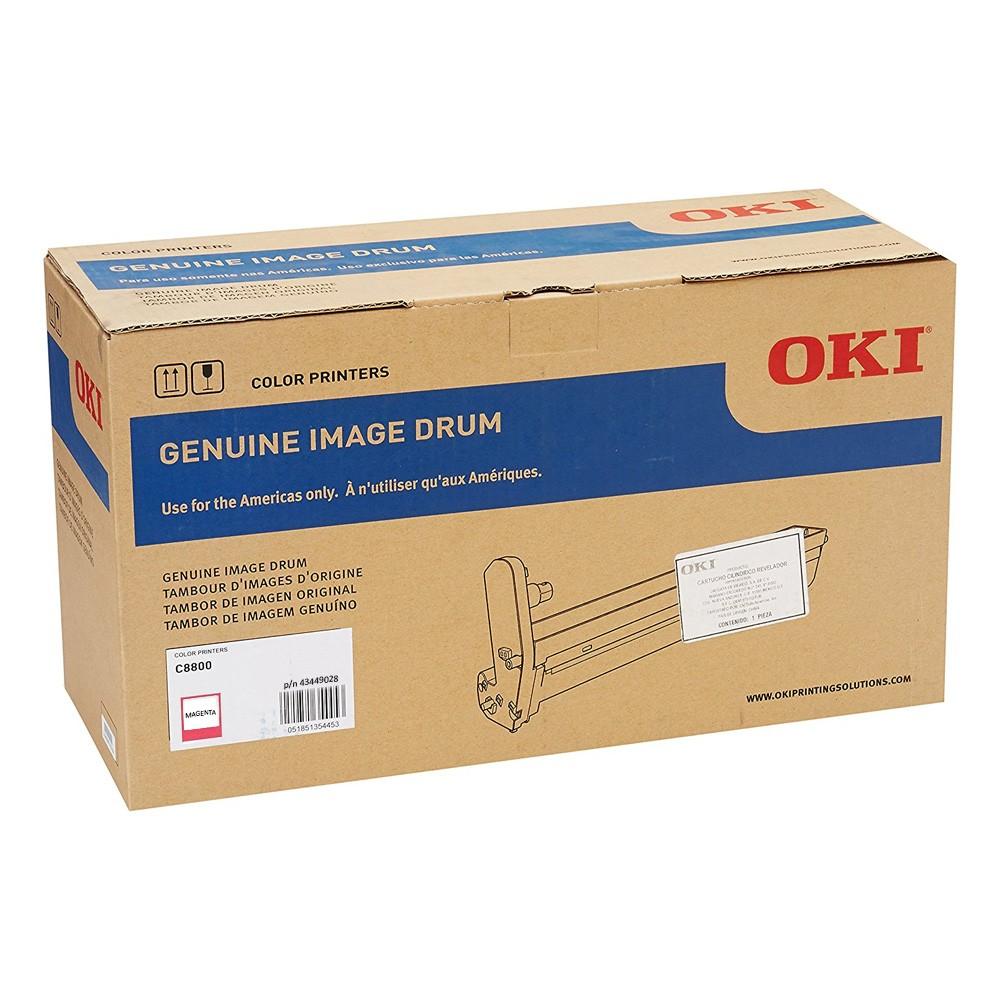 Cilindro de Imagem Okidata Original 43449026 Magenta   OKI C8800