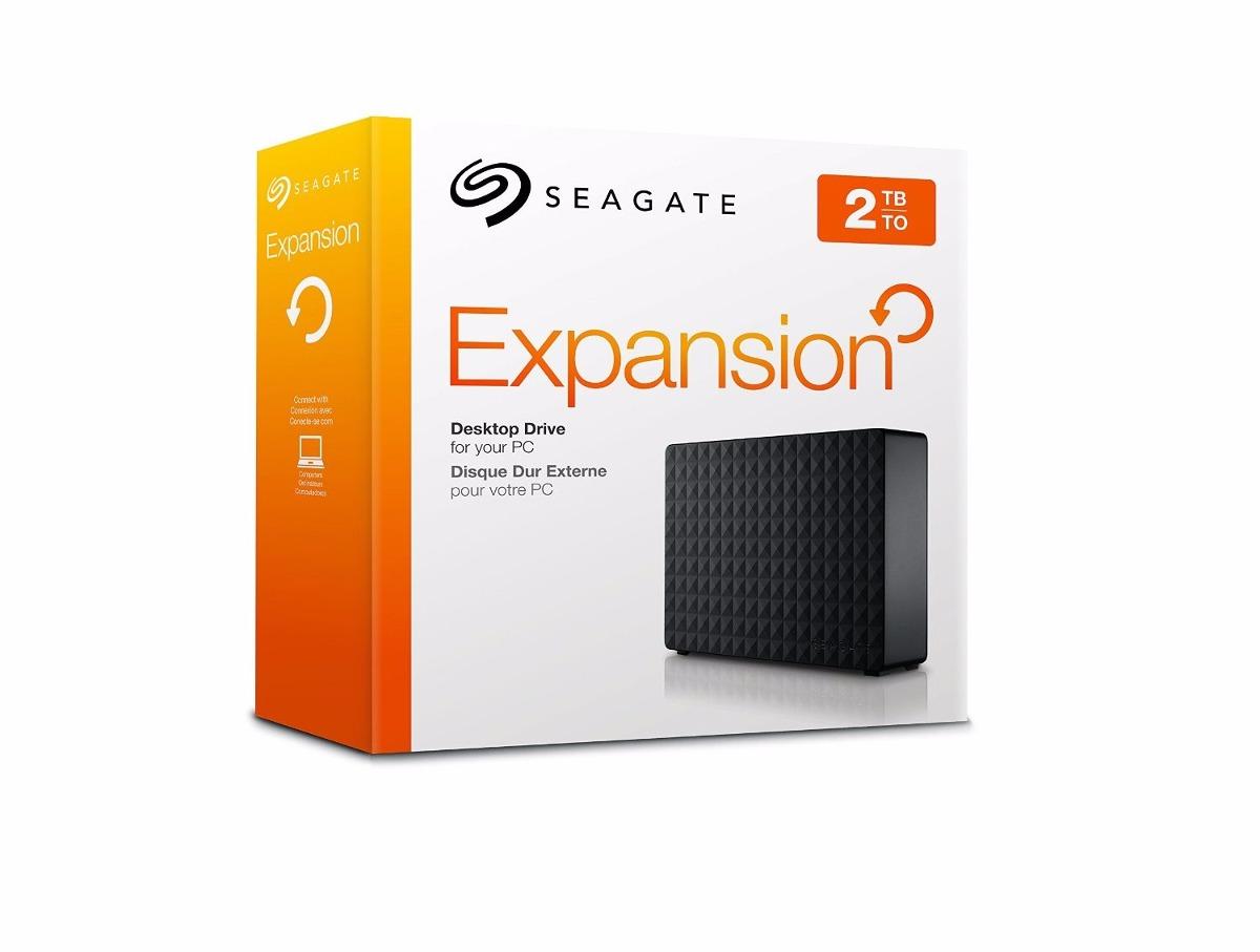 Hd Externo 2tb  Seagate Expansion STBV2000200 Usb 3.0 E 2.0 Preto