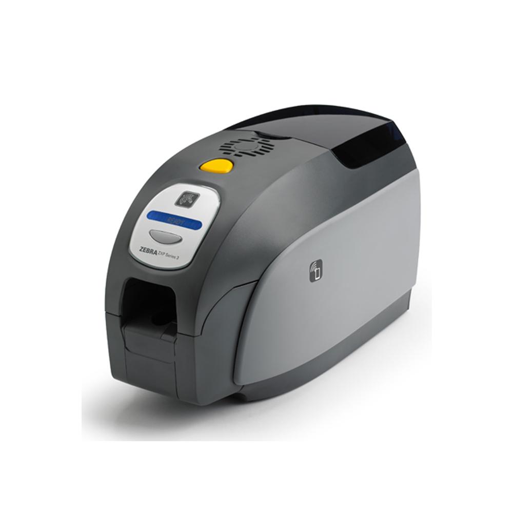 Impressora de cartões Zebra Série ZXP3 2 Faces   Rede   Codificador Magnético