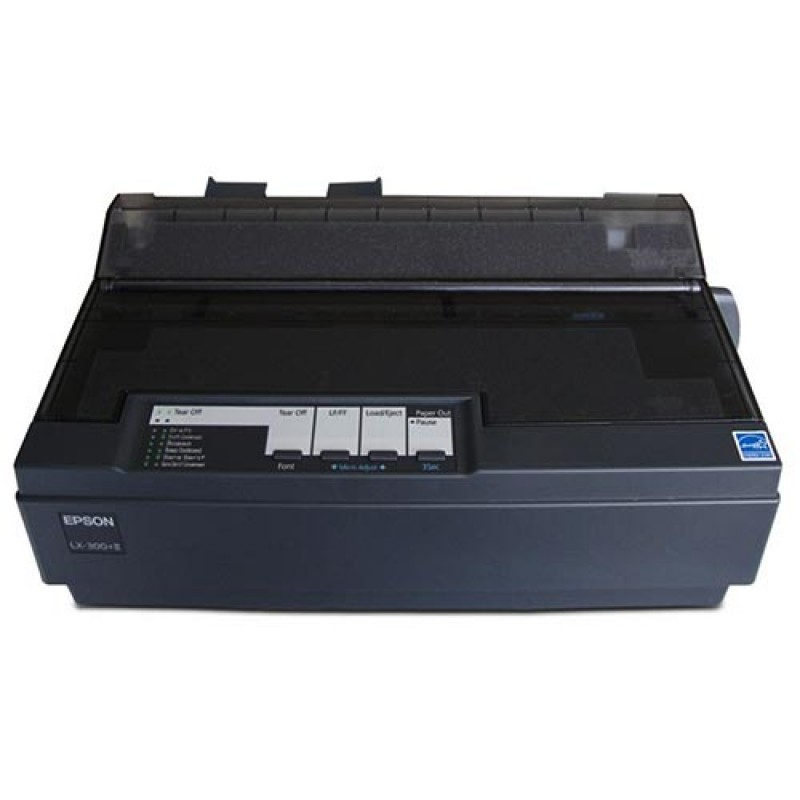 Impressora Epson Matricial LX300 +II LX-300 USB / Serial Paralelo Black - Revisada com Garantia