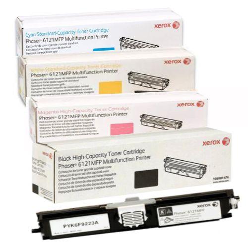 Kit 4 Toners Xerox Original   106R01473   106R01474   106R01475   106R01476 - Xerox Phaser 6121
